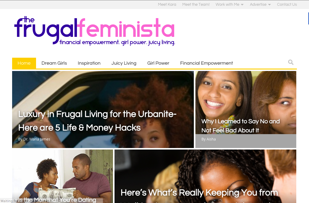 The Frugal Feminista