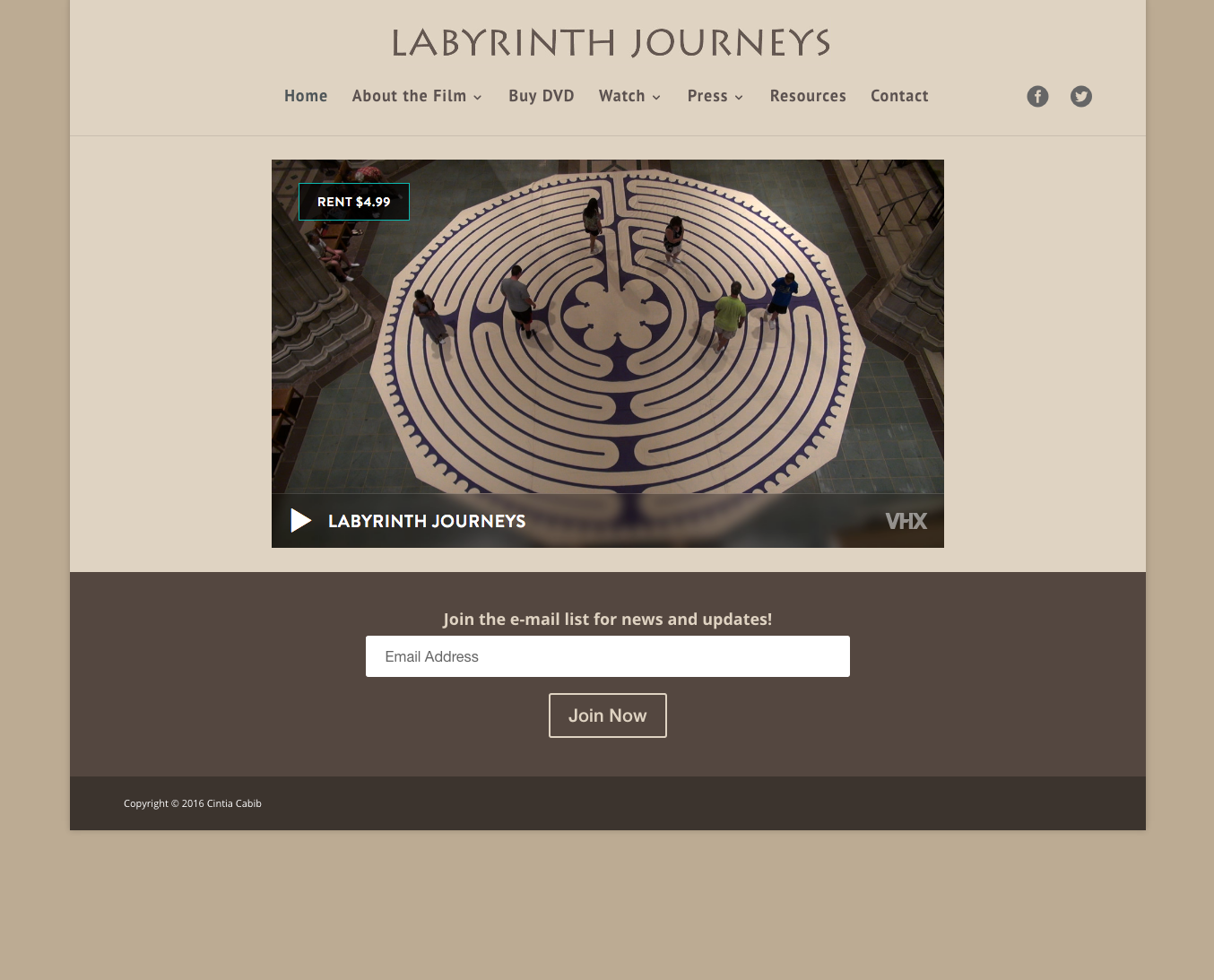 Labyrinth Journeys