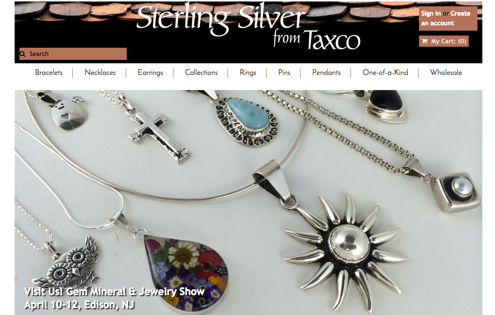 Sterling Silver from Taxco