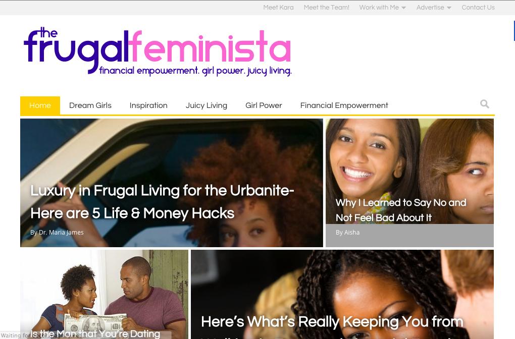 The Frugal Feminista