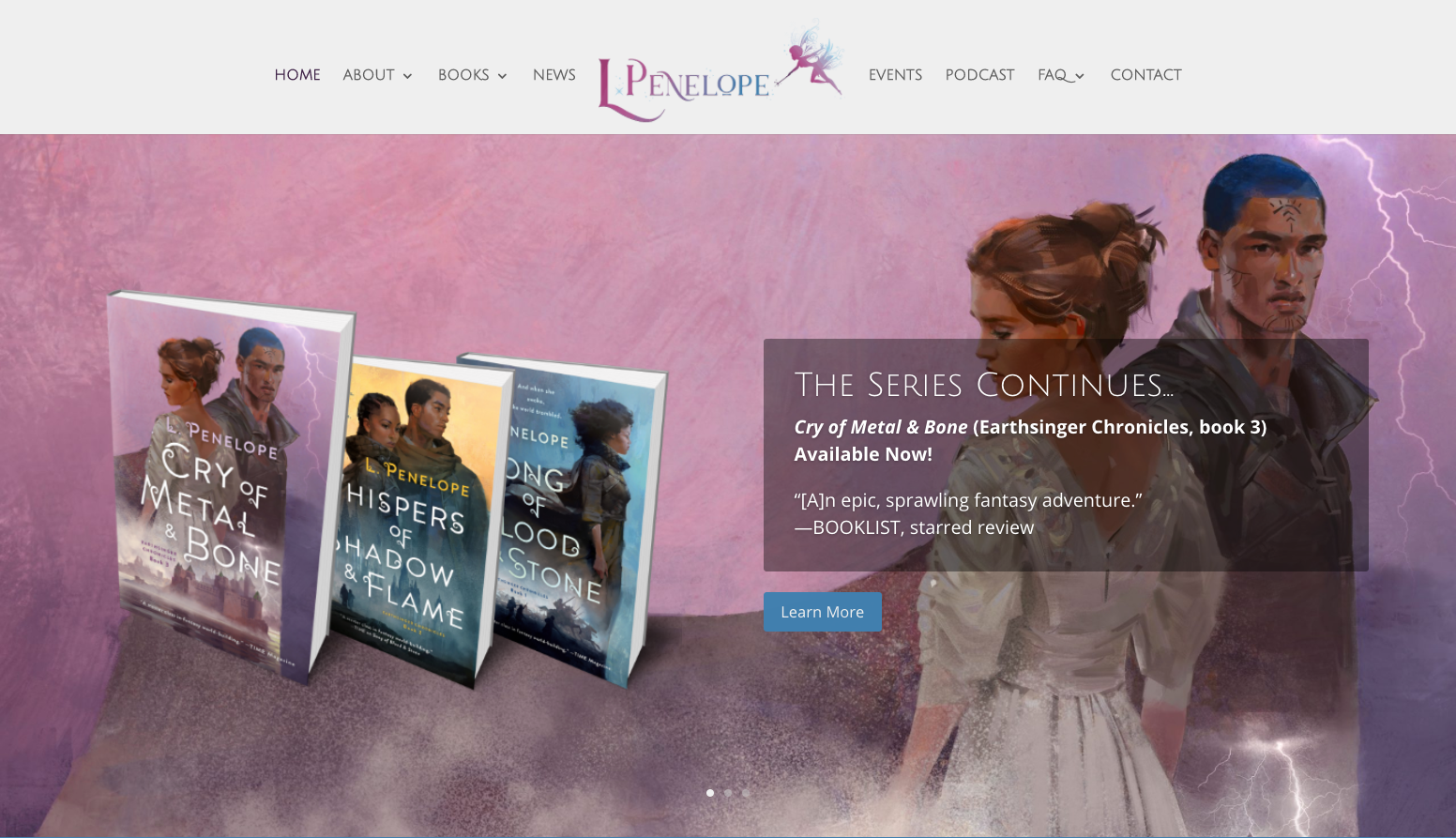 L. Penelope website